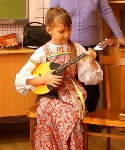 Даша Рубанова (1 класс, преп. Танкова Н.В.)