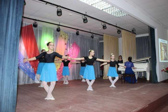 фрагмент урока классического танца